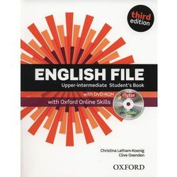 English File Upper Intermediate. Podręcznik + DVD + Online Skills (opr. miękka)
