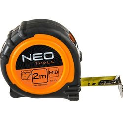 Miara zwijana NEO 67-115 stalowa z magnesem 25 mm (5 m)