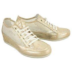 IGI&CO 7785 4/00 beige, półbuty (sneakersy) damskie - Złoty