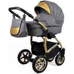 Sun Baby wózek 3w1 Raf-pol Gold LUX flaxen - BEZPŁATNY ODBIÓR: WROCŁAW!
