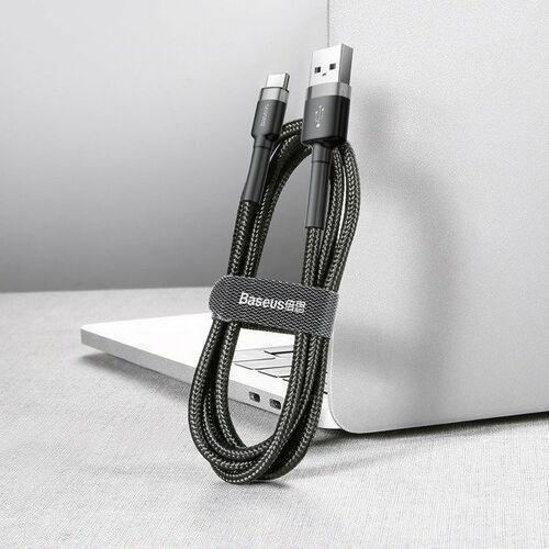 Smartbandy, Baseus Cafule | Wzmocniony kabel USB USB-C Type-C Quick Charge 2A 3m