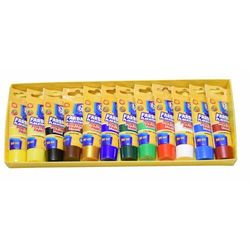 Farby plakatowe 12 kolorów w tubie