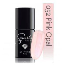 Semilac lakier hybrydowy 052 Pink Opal, transparentny, 7ml