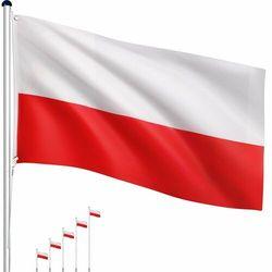 Maszt flagowy- Flaga Polska - 6,50 m