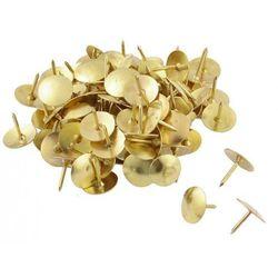 Pinezki złote, opakowanie 50 sztuk - ★ Rabaty ★ Porady ★ Hurt ★ Autoryzowana dystrybucja ★ Szybka dostawa ★
