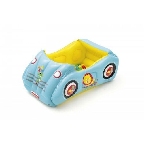 Zabawki dmuchane, Dmuchany samochód Fisher Price z piłkami