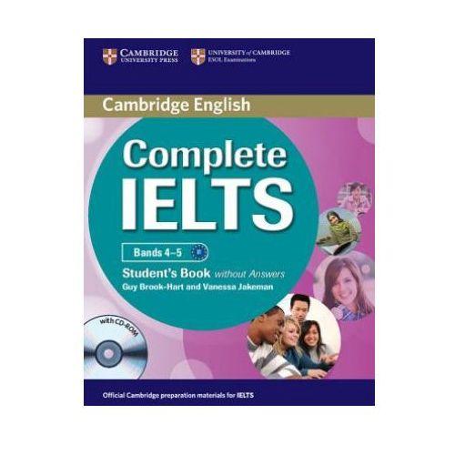 Książki do nauki języka, Complete IELTS Bands 4-5. Podręcznik Bez Klucza + CD (opr. miękka)