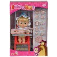 Lalki dla dzieci, Lalka SIMBA Y288 Masza w stroju dziecka z akcesoriami