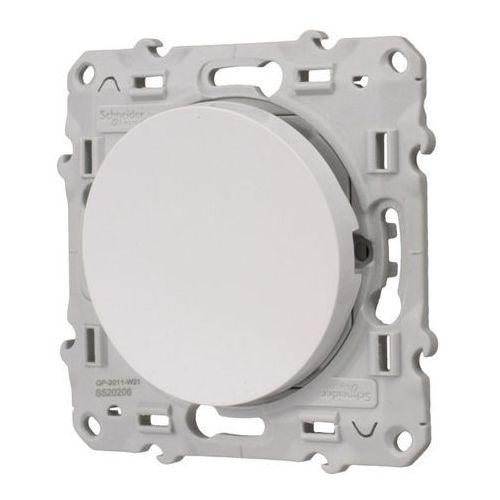 Włączniki, Łącznik przyciskowy Schneider Electric Odace biały
