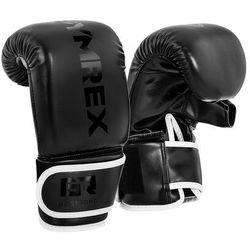 Rękawice bokserskie do treningu na worku - 12 oz - czarne