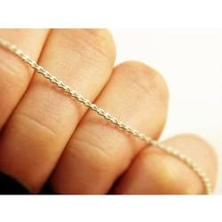 Srebrny (925) łańcuszek PANCERKA 45 cm +OPAKOWANIE