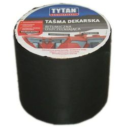 Taśma dekarska Tytan 10x10 cm brąz ciemny
