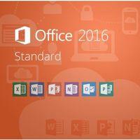 Programy biurowe i narzędziowe, Office Standard 2016 MAK/Wersja PL/Klucz elektroniczny/Szybka wysyłka/F-VAT 23%