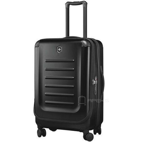 Torby i walizki, Victorinox Spectra™ 2.0 średnia walizka poszerzana 69 cm / czarna - Black ZAPISZ SIĘ DO NASZEGO NEWSLETTERA, A OTRZYMASZ VOUCHER Z 15% ZNIŻKĄ