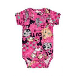 Różowe body dla niemowlaka 6T39A3 Oferta ważna tylko do 2023-08-19