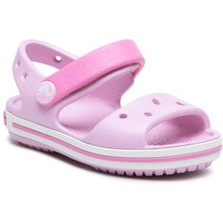 Sandały CROCS - Crocband Sandal Kids 12856 Ballerina Pink
