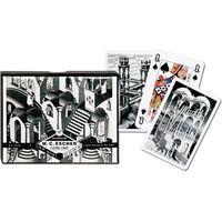 Gry dla dzieci, M.C. Escher. W górę i w dół karty do gry - Piatnik