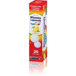 Witaminy i minerały x 20 tabletek musujących