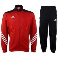 Piłka nożna, Dres adidas Sere 14 D82934 czerwono-czarny