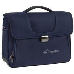 Roncato Clio torba na laptopa 15,6'' / teczka 2kom. / granatowa - Blue Notte