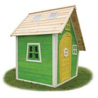Domki i namioty dla dzieci, Domek cedrowy dla dzieci EXIT FANTASIA 100 ( zielony)