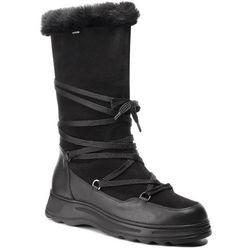 Śniegowce GEOX - D Hosmos B Abx B D84AUB 02285 C9999 Black