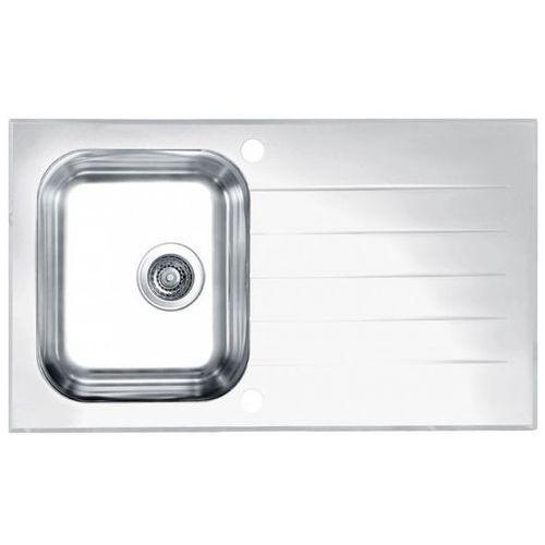 Zlewozmywak glassix 10 pop-up 3 1/2 1099462 satyna - biały marki Alveus