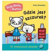 """Książki dla dzieci, Książka """"Kicia Kocia i Nunuś. Gdzie jest Szczurek?"""" wydawnictwo Media Rodzina 9788380084896"""