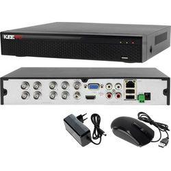Rejestrator monitoring 8 kanałowy hybrydowy KEEYO LV-XVR84SE-II