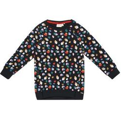 NAME IT Bluza 'Nmfludot LS' ciemny niebieski / żółty / jasnoróżowy / czerwony / biały