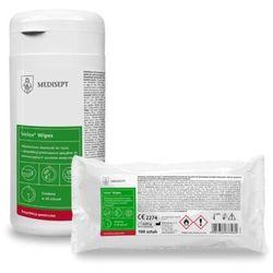 Velox Wipes Medisept wkład Alkoholowe chusteczki do mycia i dezynfekcji małych powierzchni i sprzętu medycznego
