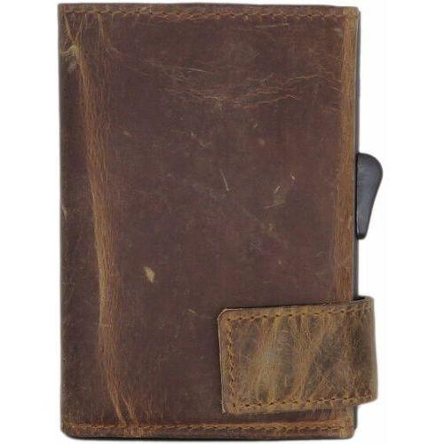 Etui i pokrowce, SecWal SecWal 1 Kreditkartenetui Geldbörse RFID Leder 9 cm braun hunter ZAPISZ SIĘ DO NASZEGO NEWSLETTERA, A OTRZYMASZ VOUCHER Z 15% ZNIŻKĄ