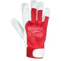 Rękawice ochronne, Rękawice robocze techniczne skóra kozia licowa COLUMBIAN- A ASEMBLY kategoria II