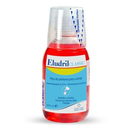 Płyny do jamy ustnej, EludrilCLASSIC Płyn do pł.jamy ustnej - - 500 ml