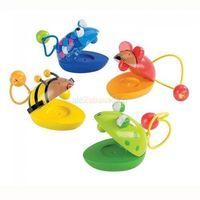 Pozostałe zabawki, Drewniane kastaniety zwierzątka Goki 61983