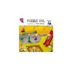 Kapitan nauka. puzzle xxl. plac zabaw