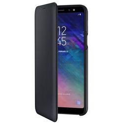 Samsung Galaxy A6+ Wallet Cover EF-WA605CB (czarny)