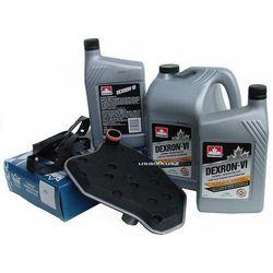Filtr oraz olej Dextron-VI automatycznej skrzyni biegów 4R70W Ford Explorer 1996-2001