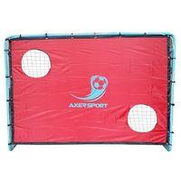 Piłka nożna, Bramka do piłki nożnej AXER SPORT A21774 Z panelem do celowania + DARMOWY TRANSPORT!