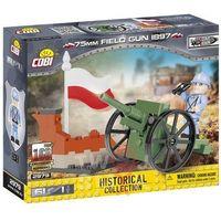 Pozostałe zabawki, Klocki COBI 2979 75 mm Field Gun 1897 Francuska armata polowa