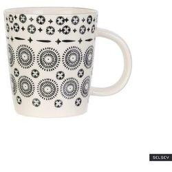 SELSEY Kubek ceramiczny Frechles w ciemny wzór 250 ml