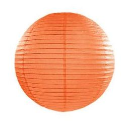 Lampion Kula pomarańczowy - 20 cm - 1 szt.