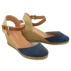 MARC O'POLO 603 13351901 300 869 mid blue, sandały damskie - Granatowy