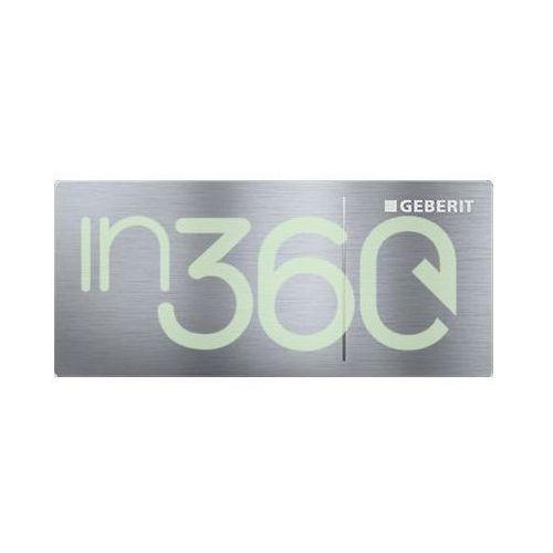 Geberit Sigma70 Przycisk uruchamiający, 12cm, zdalny, stal nierdz. 115.630.FW.1