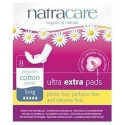 NATRACARE Podpaski higieniczne ze skrzydełkami ULTRA EXTRA LONG 8szt