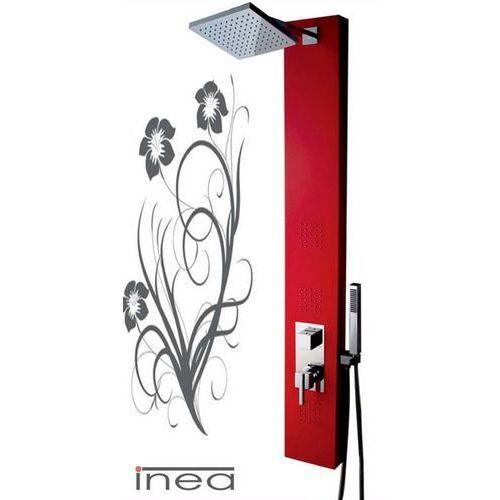 Panel prysznicowy czerwony in-8708r marki Inea