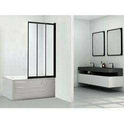 Parawan nawannowy DOLANE - 80x140 cm - Czarny