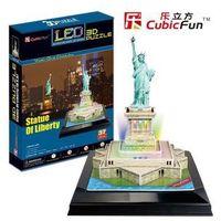 Puzzle, PUZZLE 3D LED STATUA WOLNOSCI BPZ-CUBIC FUN
