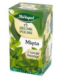 Herbatka ziołowa Zielnik Polski Mięta EX'20 40 g Herbapol