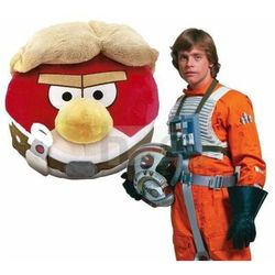 Duża Maskotka Angry Birds Star Wars 21cm pluszak Red Skywalker